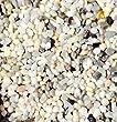 "Safe & Non-Toxic {Small Size, 0.3"" Inch} 10 Pound Bag of Gravel & Pebbles Decor for Freshwater & Saltwater Aquarium w/ Classic Natural Matte & Shiny Greek River Style [White, Gray, Black, Tan & Brown]"