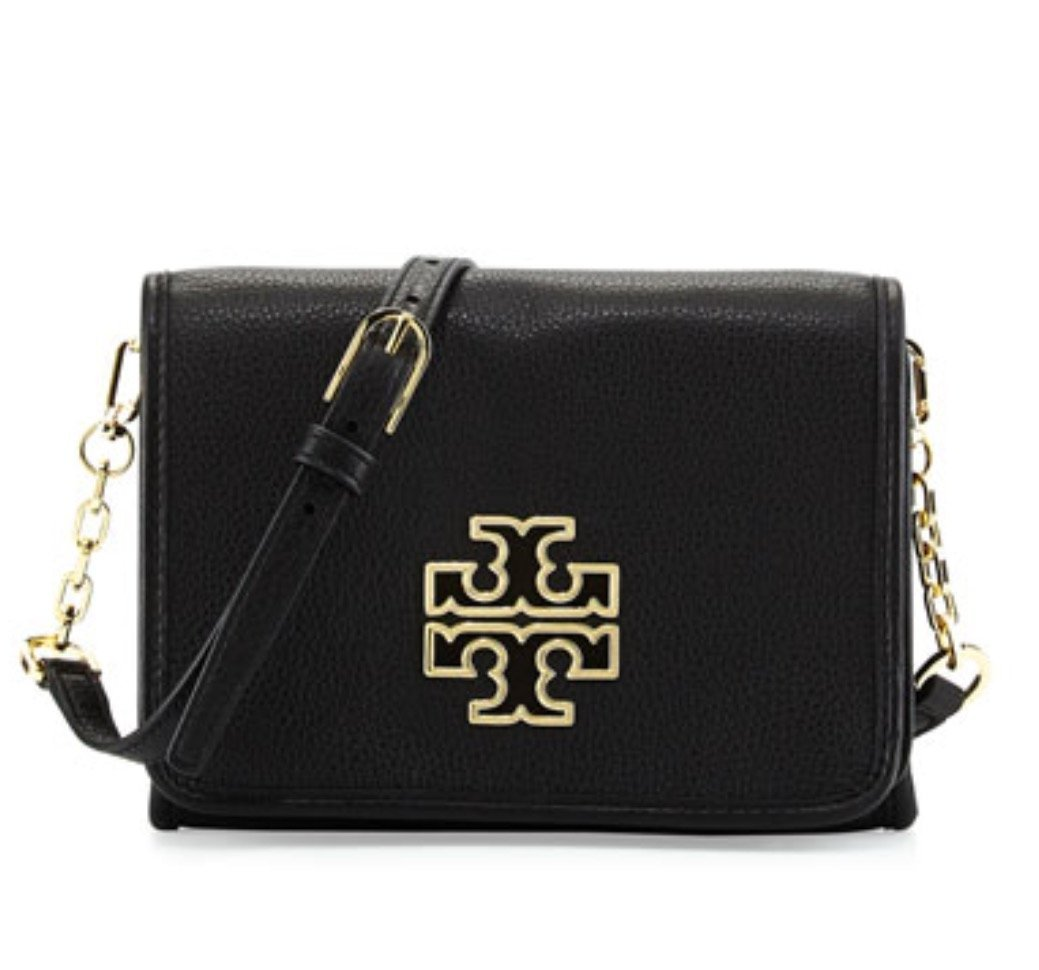 Tory Burch Britten Combo Crossbody in Black Style No 39053 $425