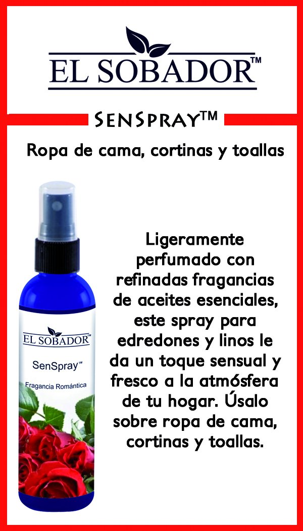 Amazon.com: Senspray - Spray perfumado para edredones y linos - Fragancia romántica para el hogar (9.00 Oz): Home & Kitchen