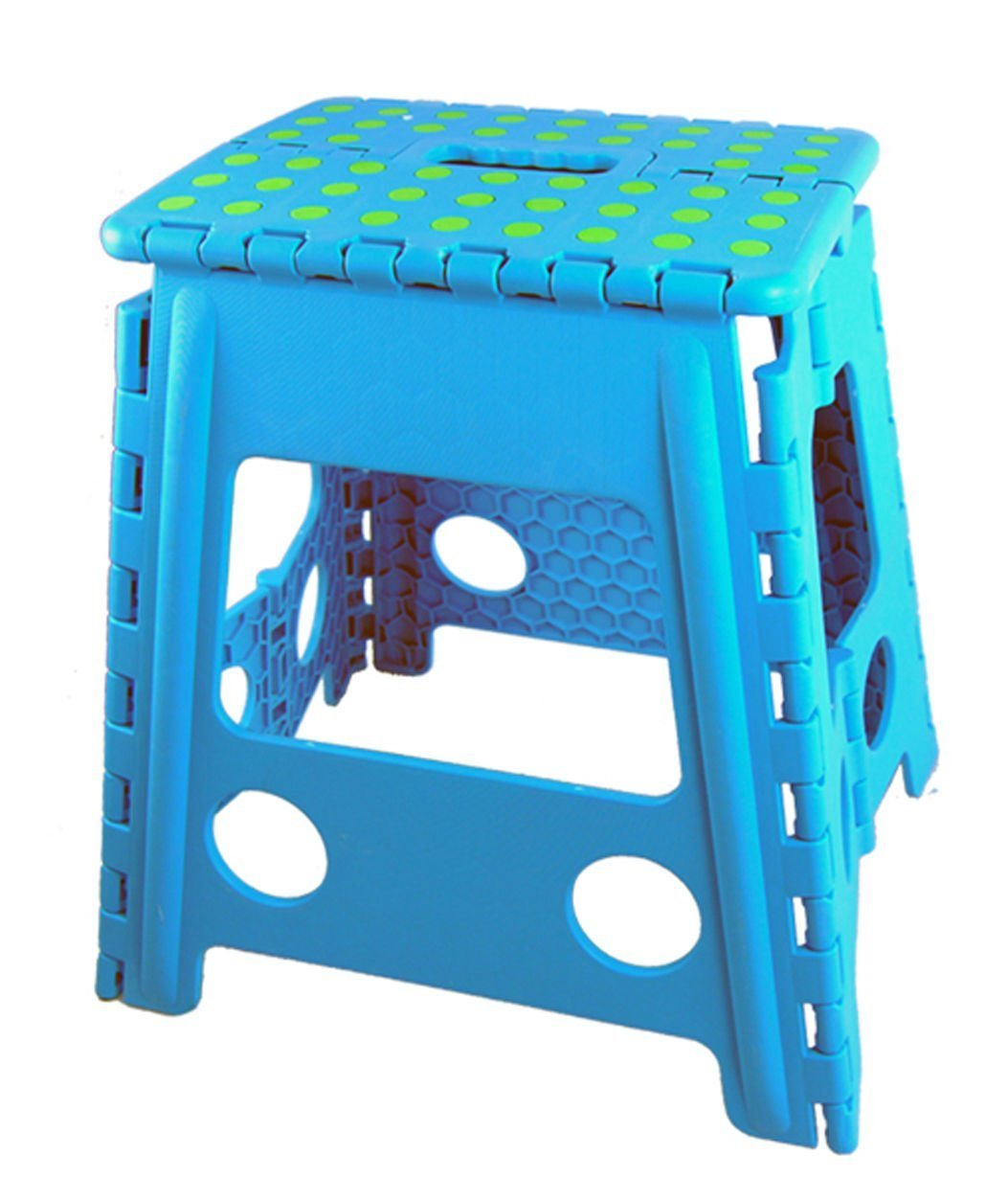 tr24/ Folding Stool Step Stool Foldable Step Stool Stool Step Step Stool Up To 150/ Kg, Blue