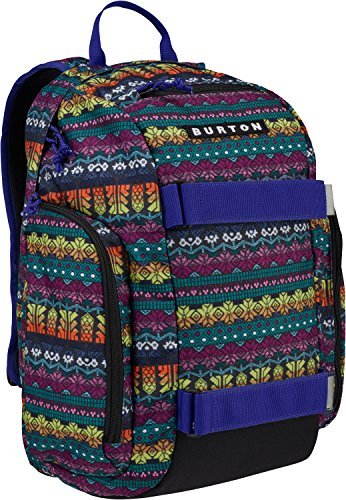 Burton Youth Metalhead Backpack, Figaro Stripe Print, One Size