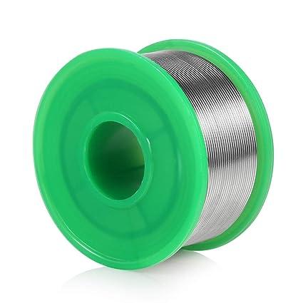 Hilo de Estaño para Soldar Soldadura con Núcleo de Resina, 0.8 mm estaño cable alambre