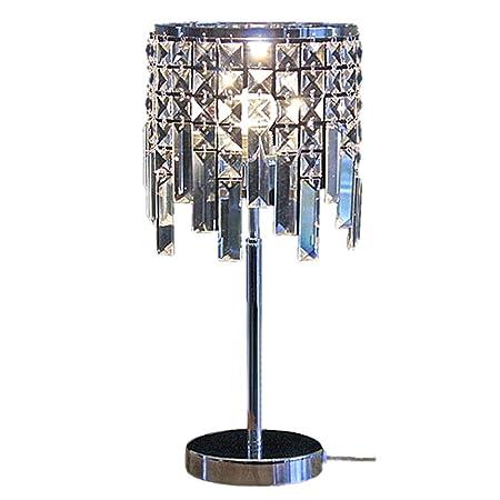 Xxk-desk lamp Cristal Lámpara de Mesa Creativa de atenuación luz ...