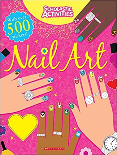 Buy Scholastic Activities Nail Art Book Online At Low Prices In India