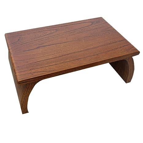 Amazon.com: Mesa baja para estudio, mesa de té, dormitorio ...