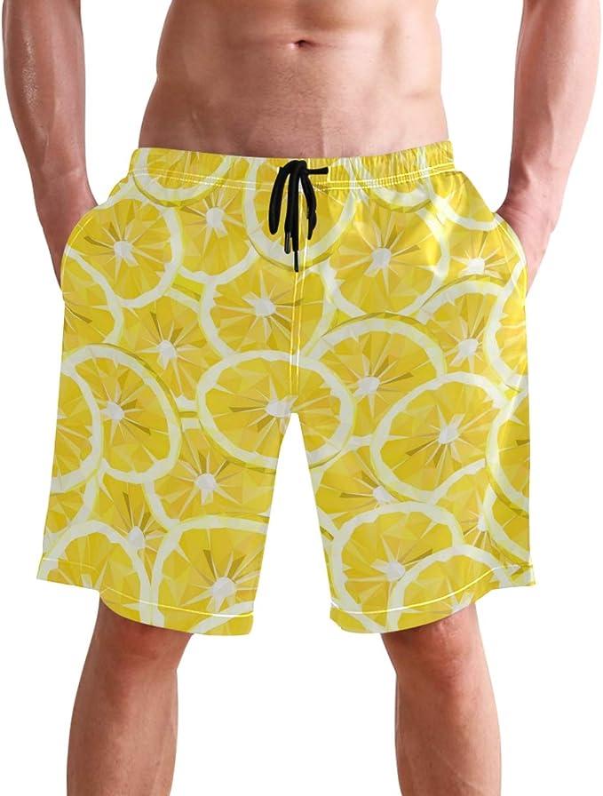 Mens Swimsuit Zipper Design Swim Trunks Sports Beach Surfing Shorts For Men 518