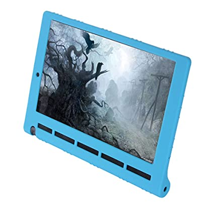 Meijunter Sky Blue Silicone Gel Rubber Case Cover For 10.1