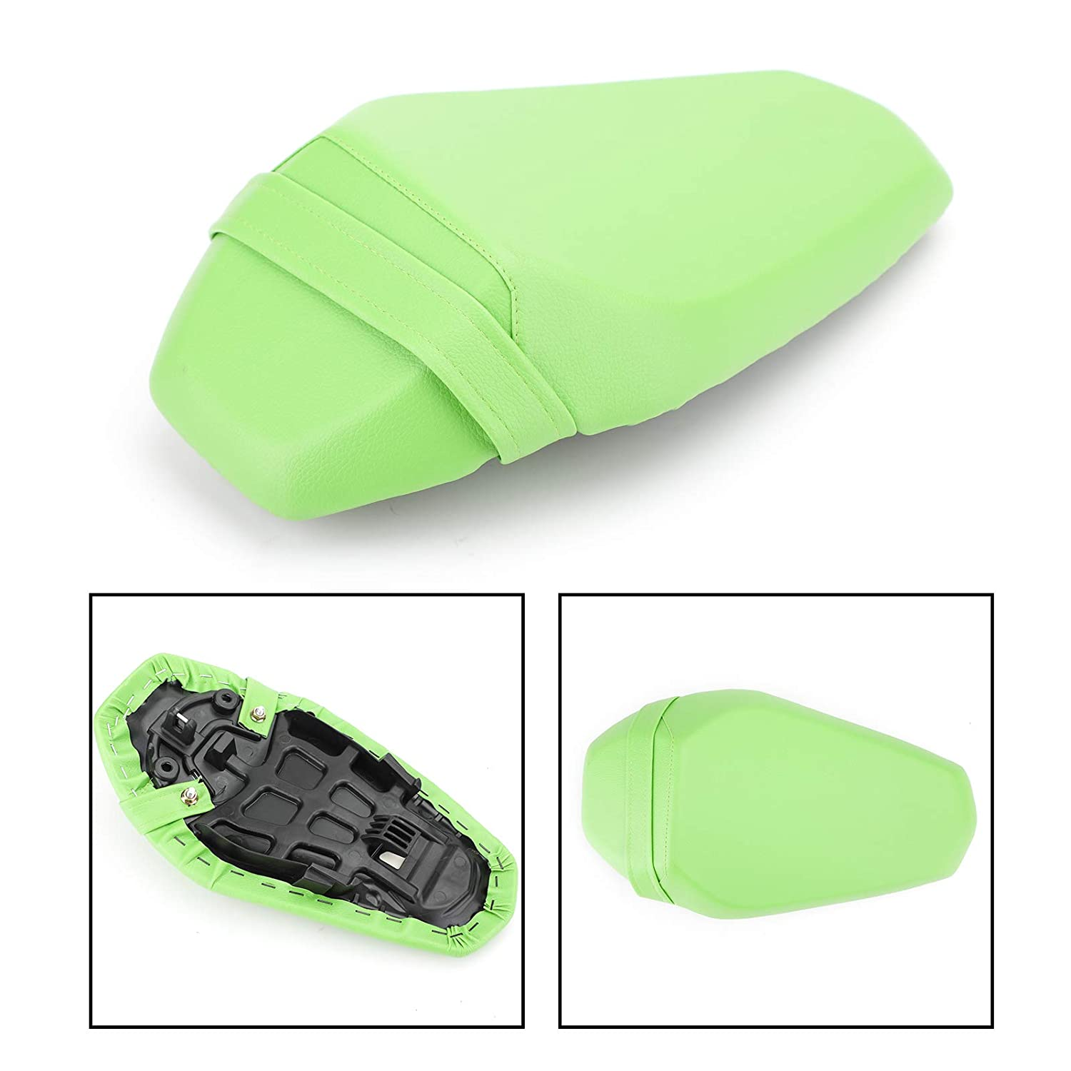 Bicycle Comfort Rear Bike Seat Pad Cushion Cover Back Rest Saddle ~ Black Parts
