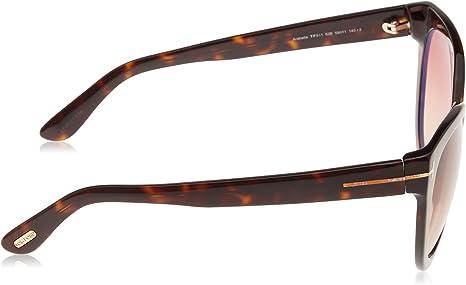 TOM FORD ARABELLA TF511 52B Dark Havana Sunglasses Brown Gradient Lenses Size 59