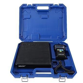 200LBS/100KGBáscula electrónica de refrigerante de carga de precisión Calibration peso etalonnage báscula peso para calefacción ventilación aire ...