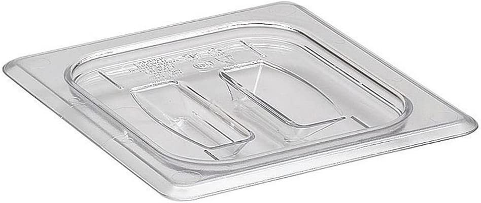 Cambro 60CWCH110 Cold Food Pan Cover with Handle Sixth-Size Camwear Pans