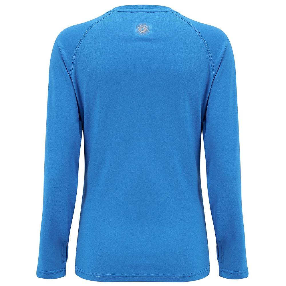 Time To Run Camiseta Térmica y Ligera De Running con Cuello Redondo para Mujer: Amazon.es: Deportes y aire libre