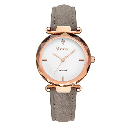 Watches Womens Watch Mens Minimalist Watch Fashion Glass Round Skin Strap Alloy Quartz Lovers Dress Wrist Watches Relogio Feminino