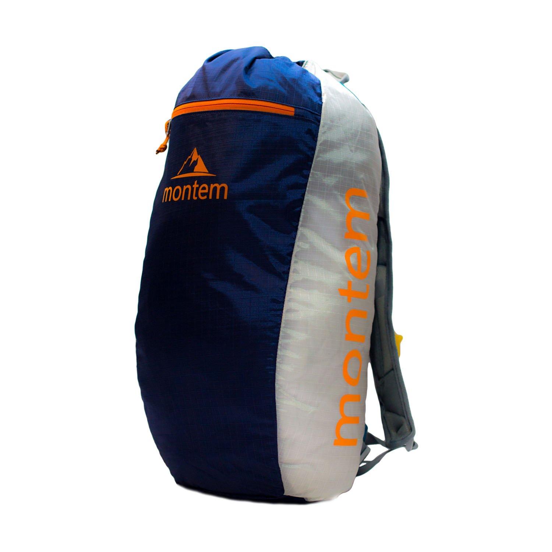 Diadema 18L Daypack/Hiking Backpack/Weekend Travel Pack (Sailor (Dark Blue/Orange))