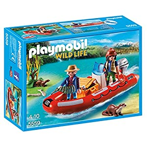 Amazon.com: Playmobil 4862 Speed Boat: Toys & Games