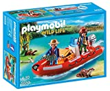 Playmobil Inflatable Boat with Explorers Playset
