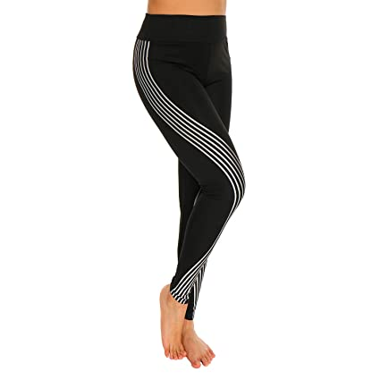ca2c26df40 Amazon.com : RIOJOY Yoga Pants Exercise Fitness Leggings for Women ...