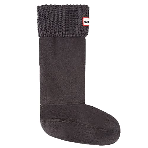 Hunter Negro Original Half Cardigan Stitch Boot Calcetines: Amazon.es: Zapatos y complementos