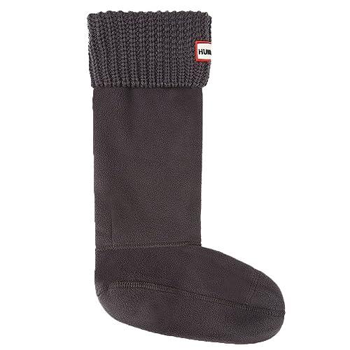 Hunter Negro Original Half Cardigan Stitch Boot Calcetines: Amazon.es: Zapatos y complementos