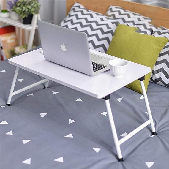 Ordenador portátil portátil Simple Escritorio Cama con Mesa ...