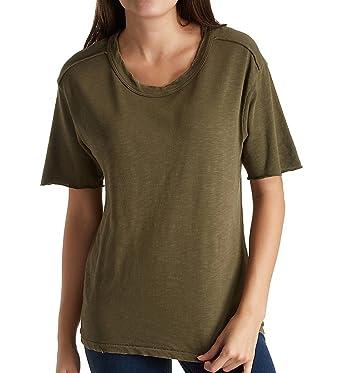 68816ab4 Splendid Women's Cotton Slub T-Shirt Antique Olivine T-Shirt