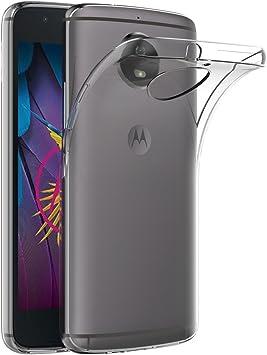 AICEK Funda Moto G5S, Transparente Silicona Fundas para Motorola ...