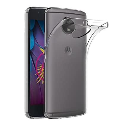 AICEK Funda Moto G5S, Transparente Silicona Fundas para Motorola Moto G5S Carcasa Silicona Funda Case (5.2