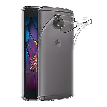 6420e49338f AICEK Funda Moto G5S, Transparente Silicona Fundas para Motorola Moto G5S Carcasa  Silicona Funda Case