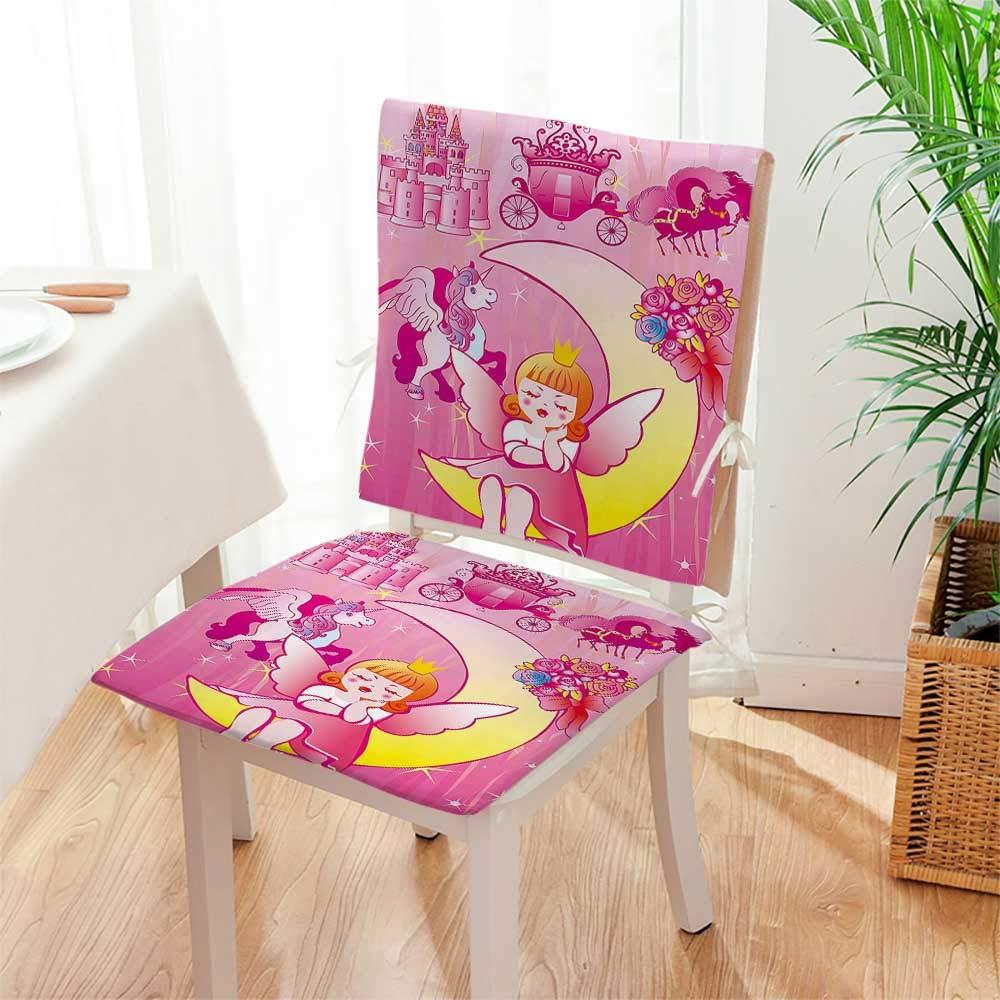 Amazon.com: Mikihome - Juego de 2 cojines para silla de ...