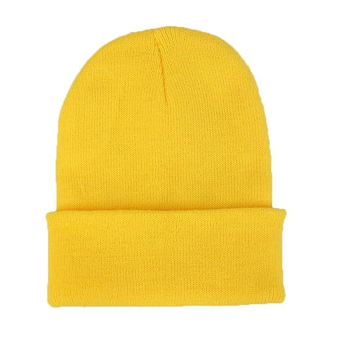 ECYC Sombrero De Gorrita Tejida De Punto para Mujer, Gorras De Esquí De Mujer para