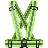 Meyerglobal Reflective Vest, High Visibility, Safety Adjustable Belt Regular Size