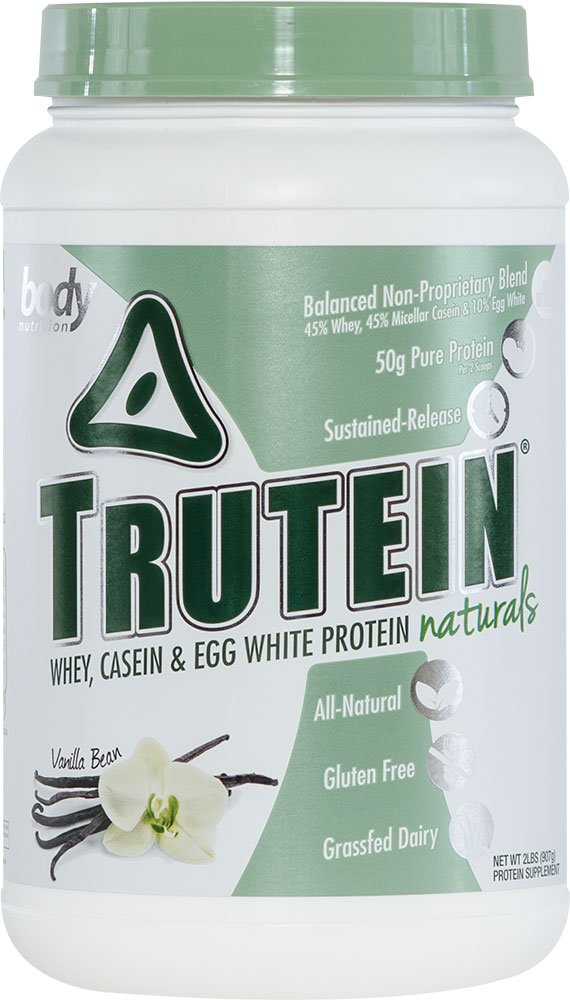 Body Nutrition Trutein Naturals Vanilla Bean Protein Blend 2 LB