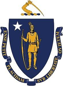 Toland Home Garden Massachusetts State Flag 28 x 40 Inch Decorative USA House Flag