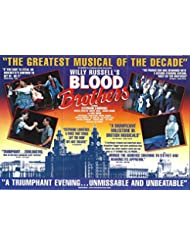 """Stephanie Lawrence """"BLOOD BROTHERS"""" Carl Wayne / Willy Russell 1992 London Flyer"""