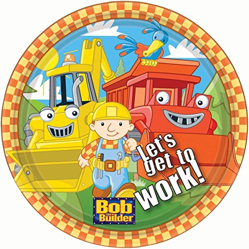 Bob the Builder 8 Count Party Plates (2 Pack).