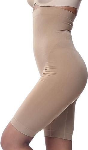 Franato Damen Miederhose Shapewear mit Bauch-Weg-Effekt Formt sofort Strafft
