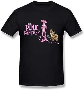 hsuail Hombres de la pantera rosa T-Shirt