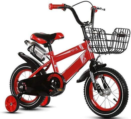 JBHURF Bicicleta para niños Bicicleta Plegable para niños y niñas ...