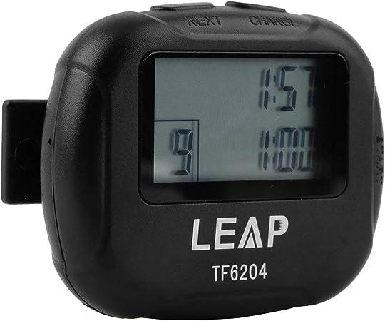Leap Timer Salle de Gym Fitness Formation Boxe Crossfit Yoga intervalle Chronomètre