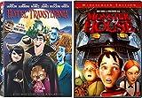 Monster House & Hotel Transylvania Animated Movie Halloween Double Feature Creepy family fun