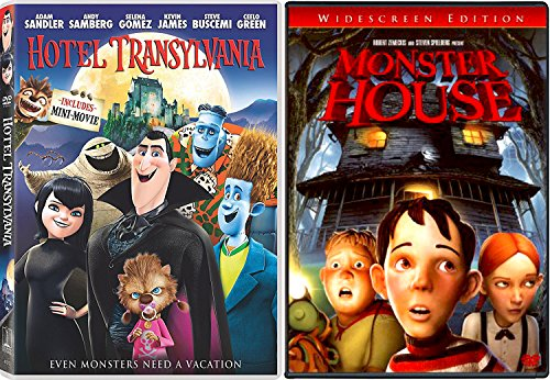 Monster House & Hotel Transylvania Animated Movie Halloween Double Feature Creepy family fun (Monster House Tv Series)