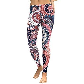 Leggings Mandala Aztèque 2018 Ombré Dgital Dioklen Femme Rond OmNPv8yn0w