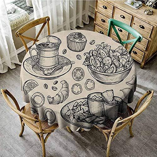 Round Tablecloth Tassel 40