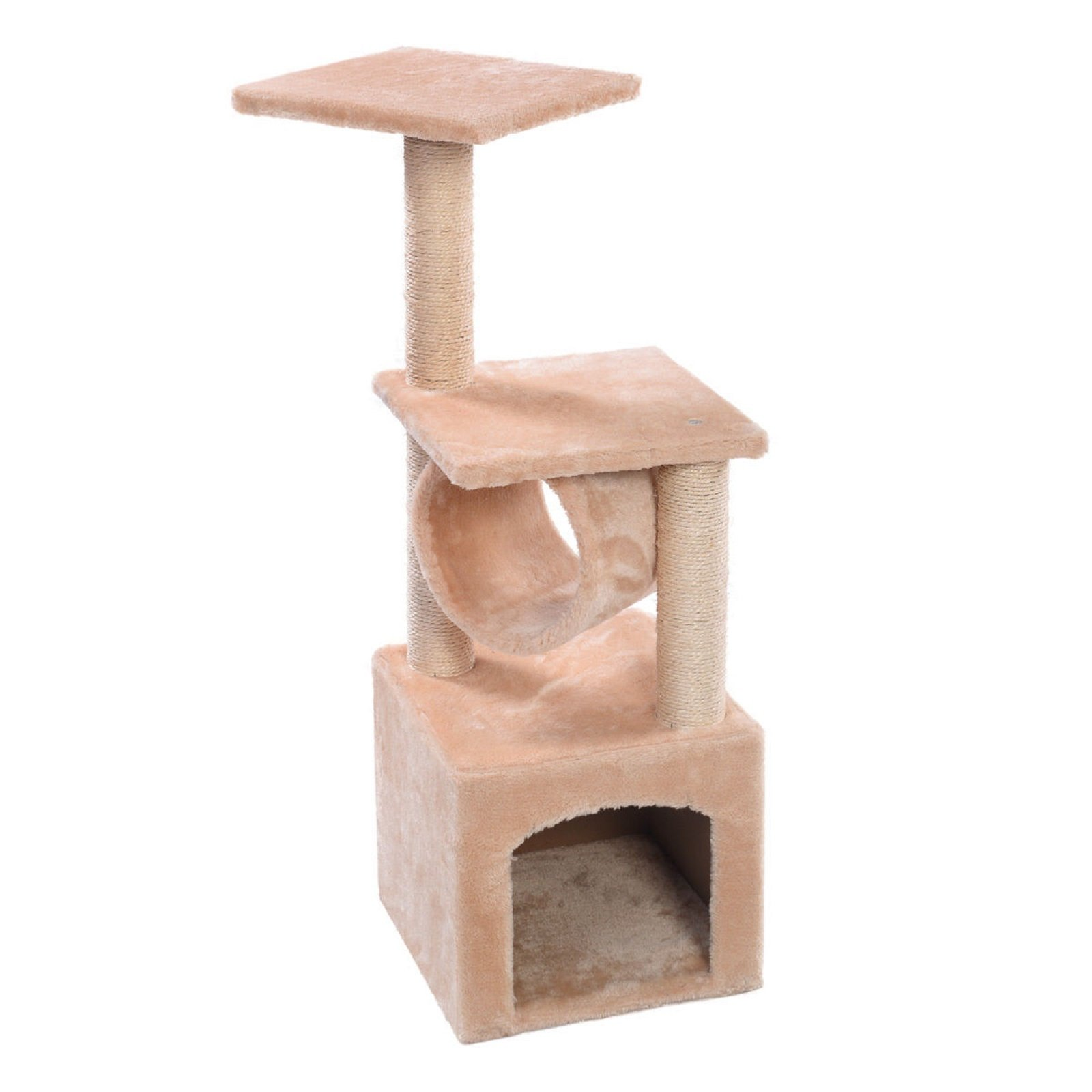 Hot Sale! Deluxe Cat Tree 36'' Condo Furniture Scratching Post Pet House Pet Play Toy