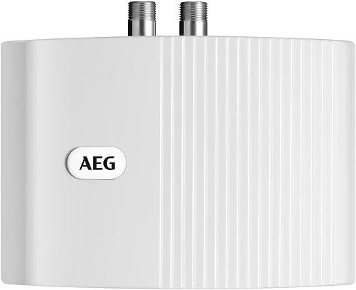 AEG hydraulischer Klein-Durchlauferhitzer MTD 350, steckerfertig, 3,5 kW, drucklos und druckfest für Handwaschbecken, 222120