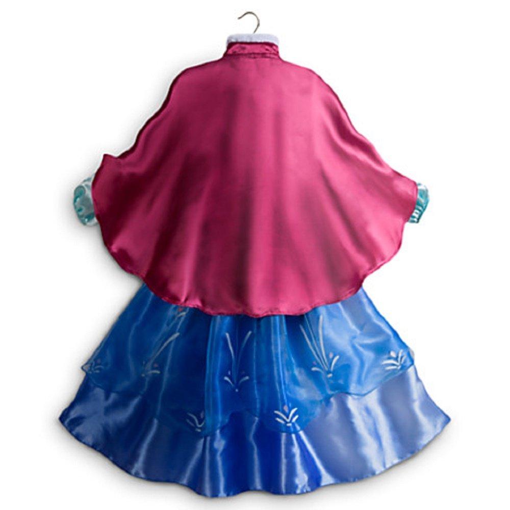 Amazon Disney Store Frozen Princess Anna Costume Size Small 5 6