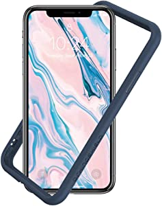 RhinoShield Ultra Protective Bumper Case Compatible with [iPhone Xs/X] | CrashGuard - Military Grade Drop Protection Against Full Impact, Slim, Scratch Resistant - Dark Blue