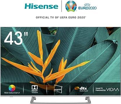 Hisense H43BE7400 - Smart TV ULED 43 4K Ultra HD, 3 HDMI, 2 USB ...