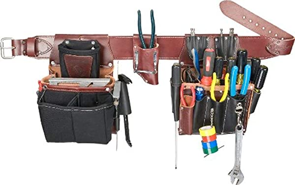 Occidental Leather 5590 LG Commercial Electrician's Set (Tamaño: Large)