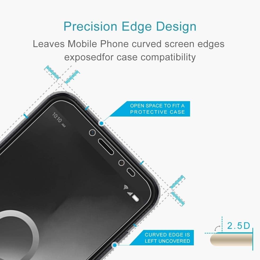 2.5D Non-Full Screen Tempered Glass Film LGYD for 50 PCS for Alcatel 1S 2019